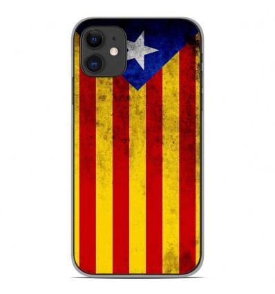 Coque en silicone Apple iPhone 11 - Drapeau Catalogne