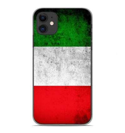 Coque en silicone Apple iPhone 11 - Drapeau Italie
