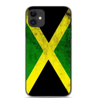 Coque en silicone Apple iPhone 11 - Drapeau Jamaïque