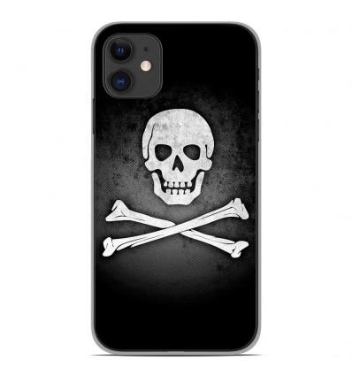 Coque en silicone Apple iPhone 11 - Drapeau Pirate