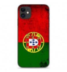 Coque en silicone Apple iPhone 11 - Drapeau Portugal