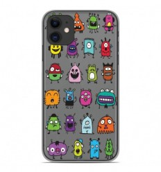 Coque en silicone Apple iPhone 11 - Alien