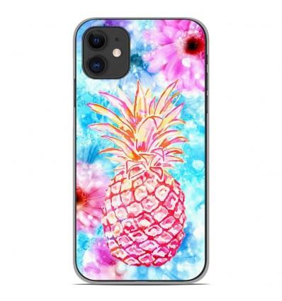 Coque en silicone Apple iPhone 11 - Ananas