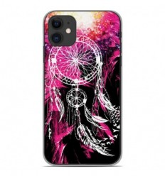 Coque en silicone Apple iPhone 11 - Dreamcatcher Rose