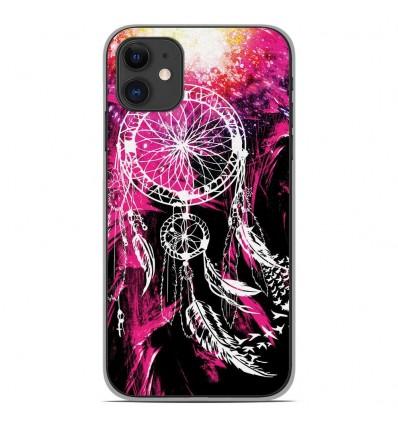 Coque en silicone Apple iPhone 11 - Dreamcatcher Rose