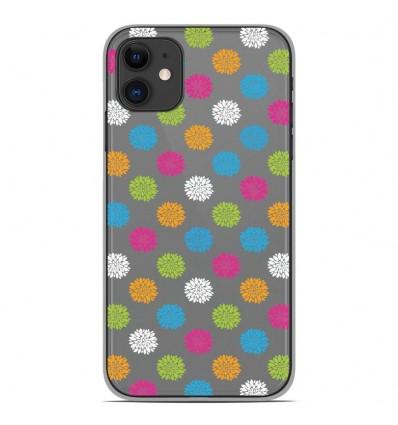 Coque en silicone Apple iPhone 11 - Floral