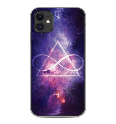 Coque en silicone Apple iPhone 11 - Infinite Triangle