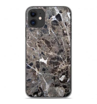Coque en silicone Apple iPhone 11 - Marbre