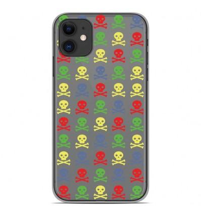 Coque en silicone Apple iPhone 11 - Skull Couleur