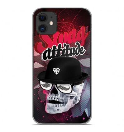 Coque en silicone Apple iPhone 11 - Swag Attitude