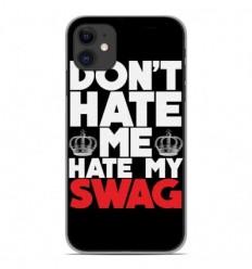 Coque en silicone Apple iPhone 11 - Swag Hate
