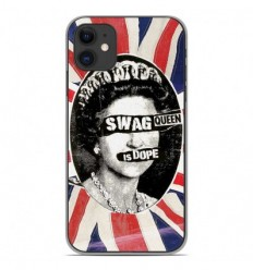 Coque en silicone Apple iPhone 11 - Swag Queen