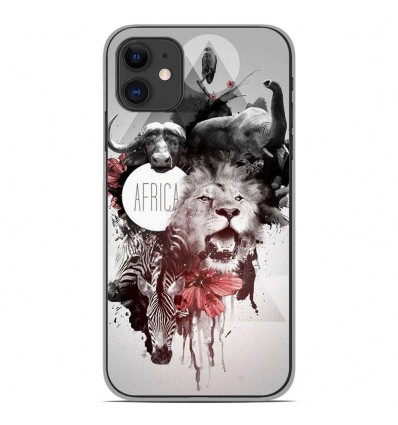 Coque en silicone Apple iPhone 11 - Africa Swag