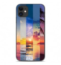 Coque en silicone Apple iPhone 11 - Aloha