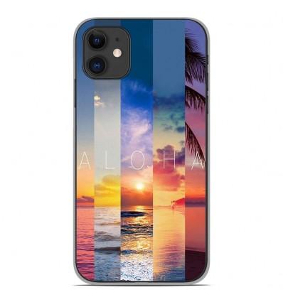 Coque en silicone Apple iPhone 11 - Aloha