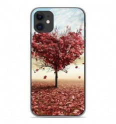 Coque en silicone Apple iPhone 11 - Arbre Love