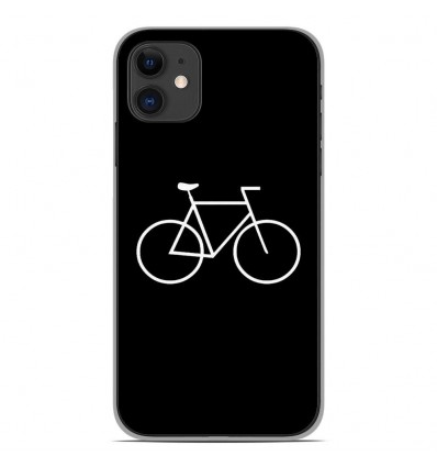 Coque en silicone Apple iPhone 11 - Bike Hipster