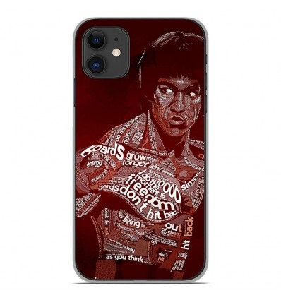 Coque en silicone Apple iPhone 11 - Bruce lee
