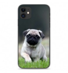 Coque en silicone Apple iPhone 11 - Bulldog français