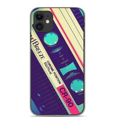 Coque en silicone Apple iPhone 11 - Cassette Vintage