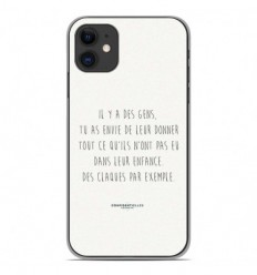 Coque en silicone Apple iPhone 11 - Citation 01