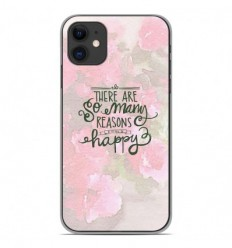 Coque en silicone Apple iPhone 11 - Citation 02