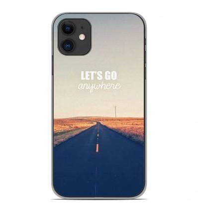 Coque en silicone Apple iPhone 11 - Citation 03