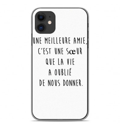 Coque en silicone Apple iPhone 11 - Citation 04