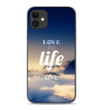 Coque en silicone Apple iPhone 11 - Citation 06