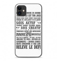 Coque en silicone Apple iPhone 11 - Citation 11