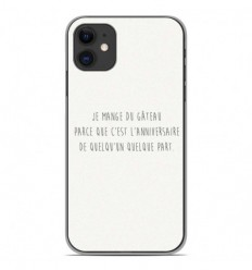 Coque en silicone Apple iPhone 11 - Citation 12