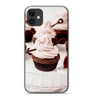Coque en silicone Apple iPhone 11 - Cup Cake