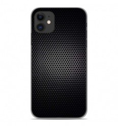 Coque en silicone Apple iPhone 11 - Dark Metal