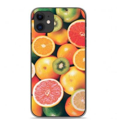 Coque en silicone Apple iPhone 11 - Fruits