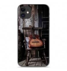 Coque en silicone Apple iPhone 11 - Guitare