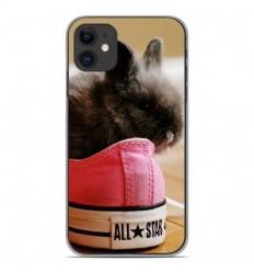 Coque en silicone Apple iPhone 11 - Lapin allstar