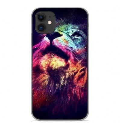 Coque en silicone Apple iPhone 11 - Lion swag