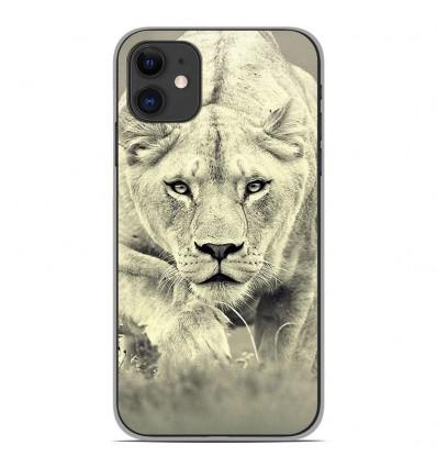 Coque en silicone Apple iPhone 11 - Lionne