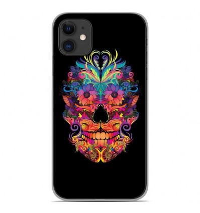 Coque en silicone Apple iPhone 11 - Masque carnaval