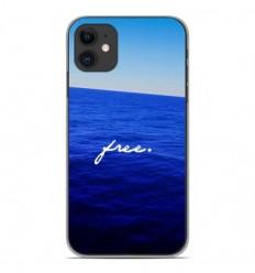 Coque en silicone Apple iPhone 11 - Océan free
