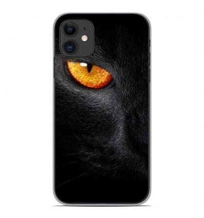 Coque en silicone Apple iPhone 11 - Oeil de Panterre