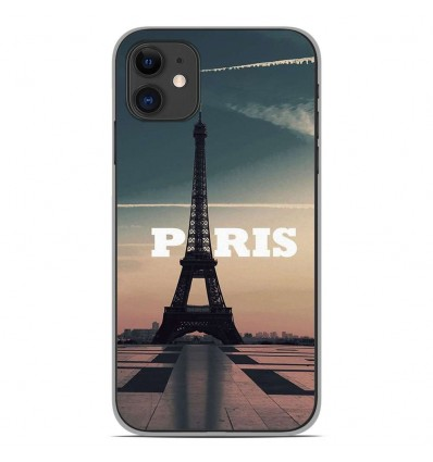 Coque en silicone Apple iPhone 11 - Paris