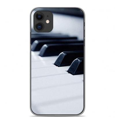 Coque en silicone Apple iPhone 11 - Piano
