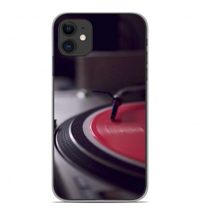 Coque en silicone Apple iPhone 11 - Platine