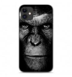 Coque en silicone Apple iPhone 11 - Singe