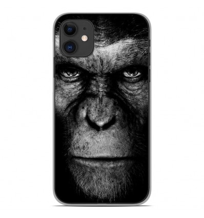 Coque en silicone Apple iPhone 11 - Singe
