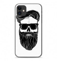 Coque en silicone Apple iPhone 11 - Skull Hipster
