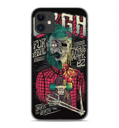 Coque en silicone Apple iPhone 11 - Skull Urgh