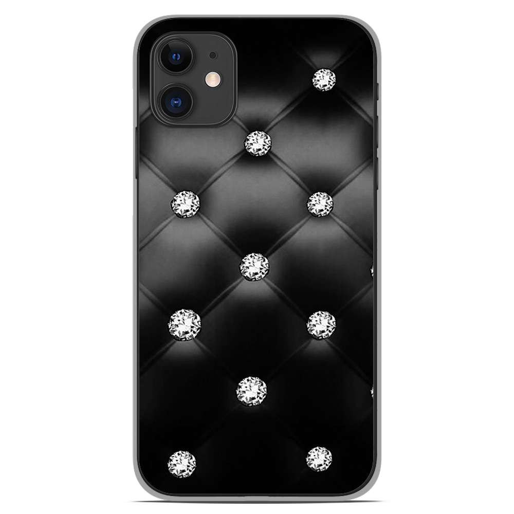 Coque en silicone Apple iPhone 11 - Strass