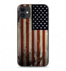Coque en silicone Apple iPhone 11 - USA Hood